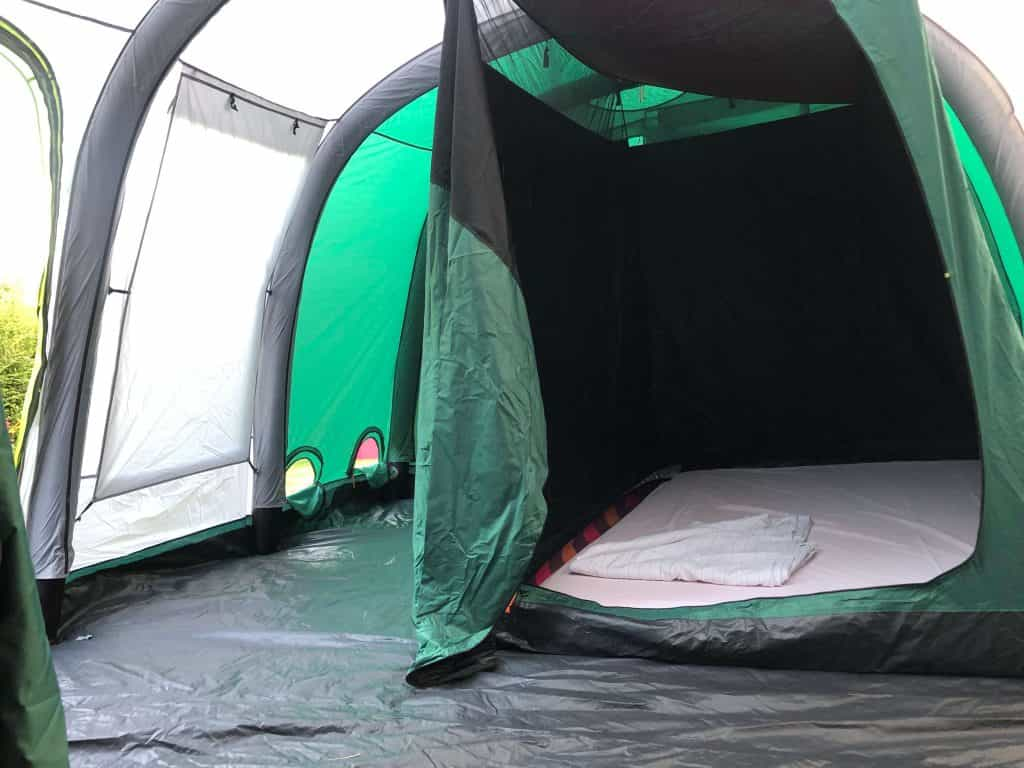 interior of Coleman Valdes 6 Person Inflatable Tent Review
