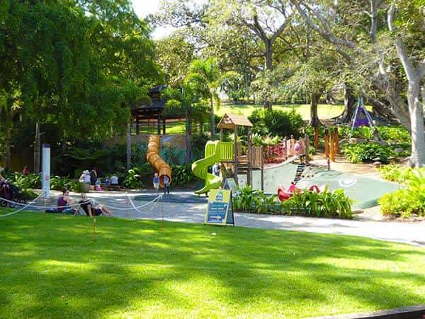 Things to do In Brisbane With Kids, roma st parklands
