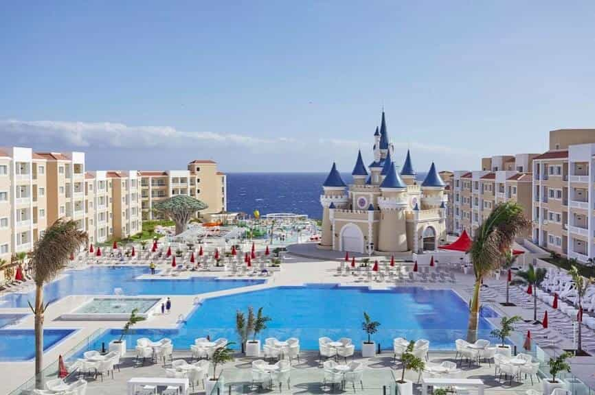 Fantasia Bahia Principe hotel, one of the newer All inclusive Tenerife hotels