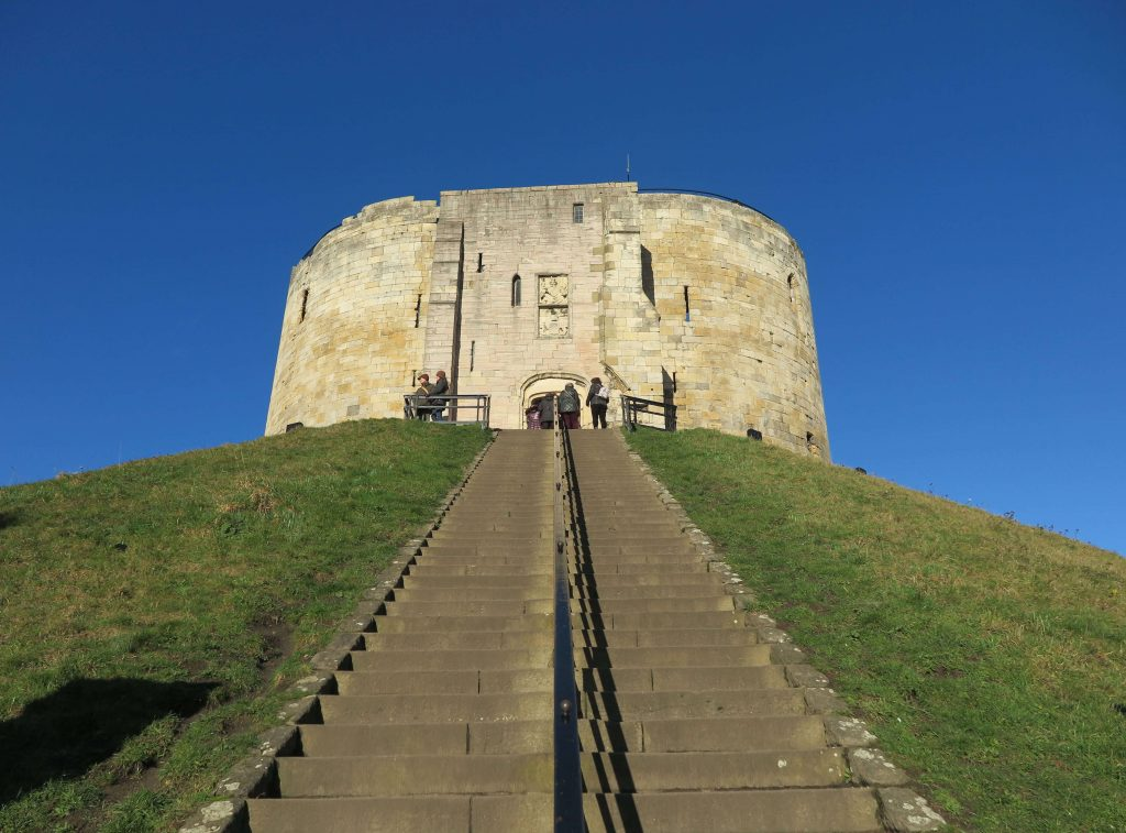 Things to do in York With Kids When it's Raining, Clifford's tower a Norman keep
