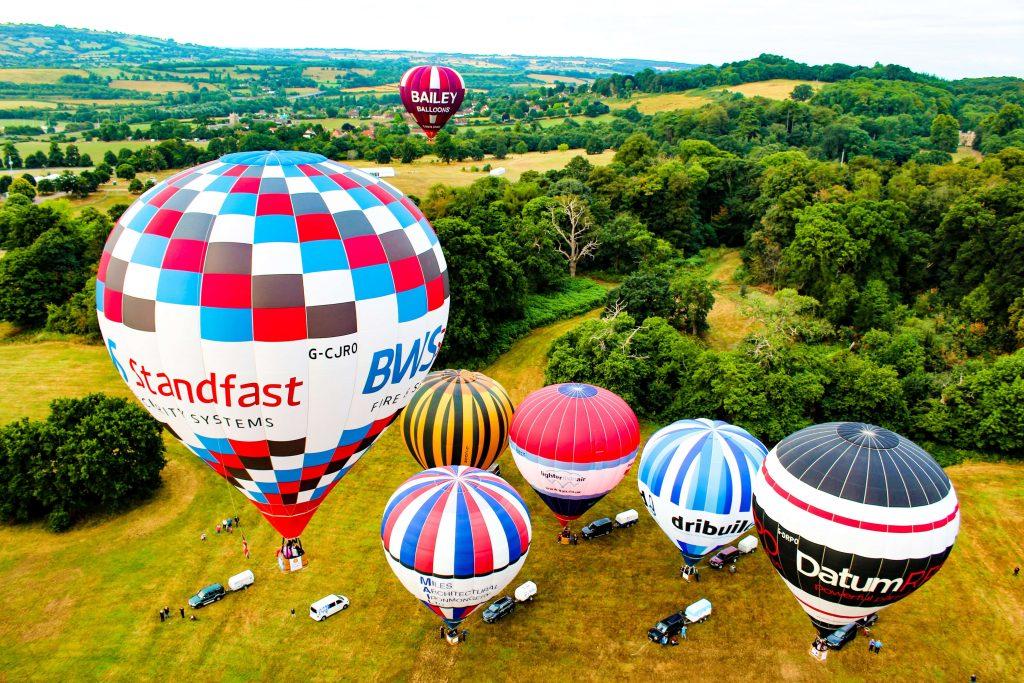bristol balloon fiesta balloons
