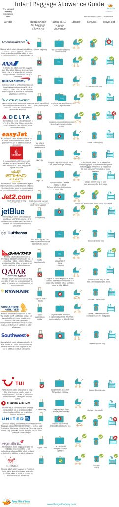 Airline baggage guide