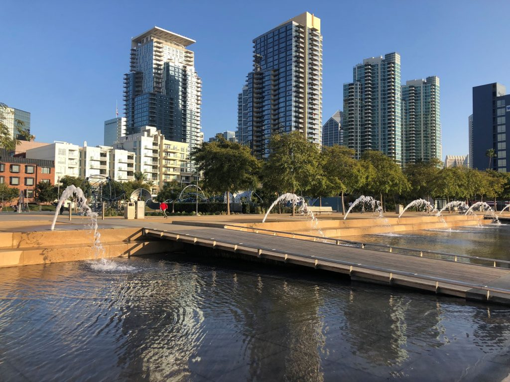 Waterfront Park in San Diego With Kids