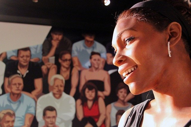 Serena Williams mannequin at Madame Tussaud's