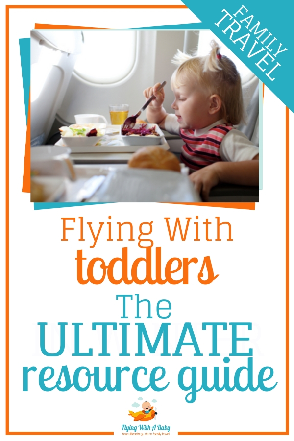 This ultimate resource guide to flying with a toddler is jam-packed with flying with a toddler tips and resources to answer every question you may have for travelling by plane with a toddler. #flyingtips #familytravel
