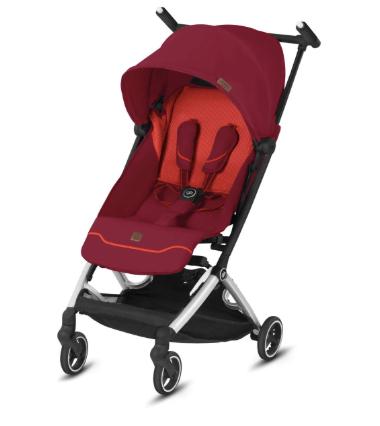 pockit city red travel stroller