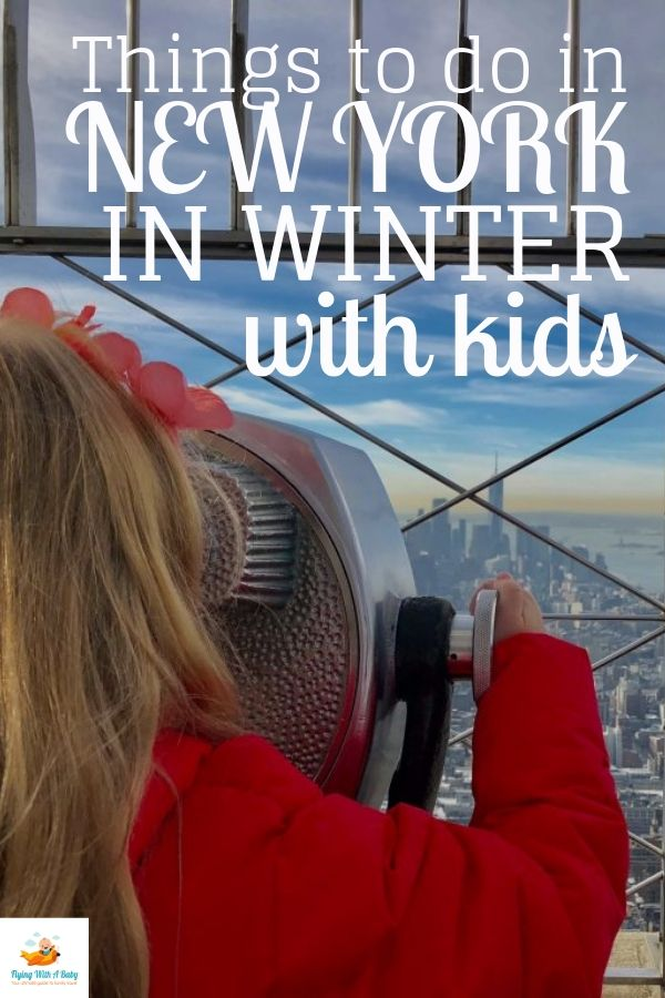 Things to do with kids in New York in winter