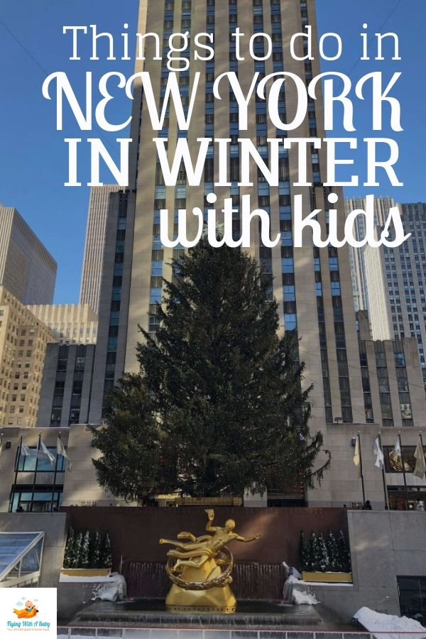 Things to do in winter in New York with children
