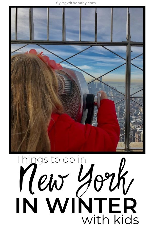 Things to do in New York in Winter with Kids