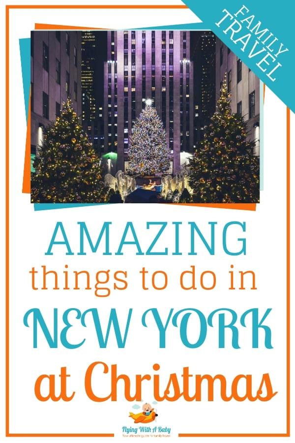 Amazing things to do in New York at Christmas #christmas #xmas #NYC #NewYork #NewYorkCity #kids #activities