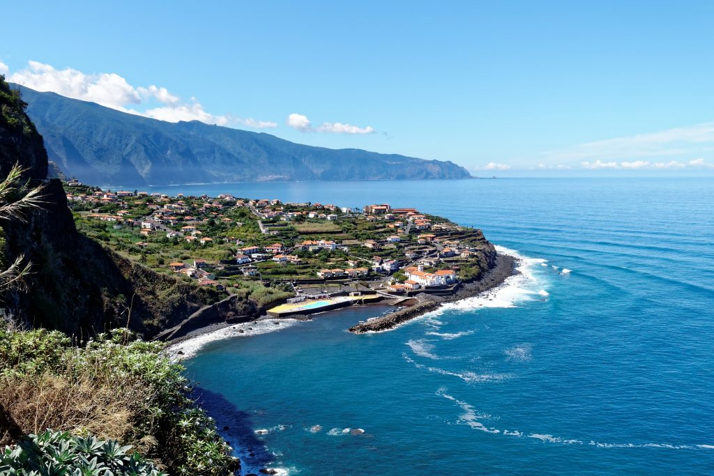 Madeira coastline is hot in February half term