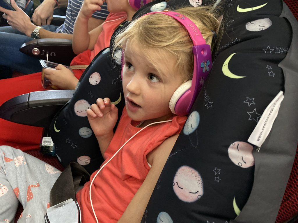 Seat to Seat review showing how to get comfy on the plane