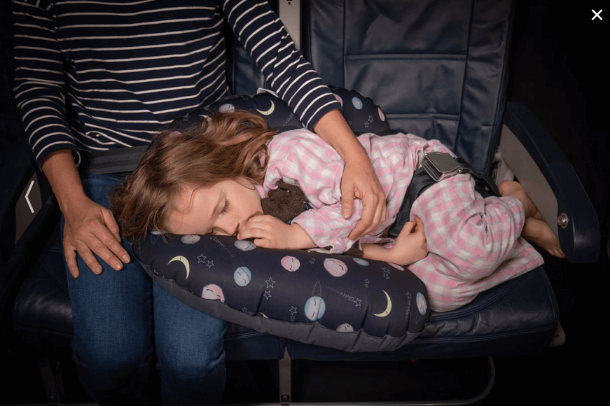Seat to Sleep Review travel pillow