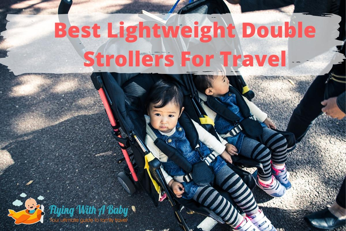 double travel stroller