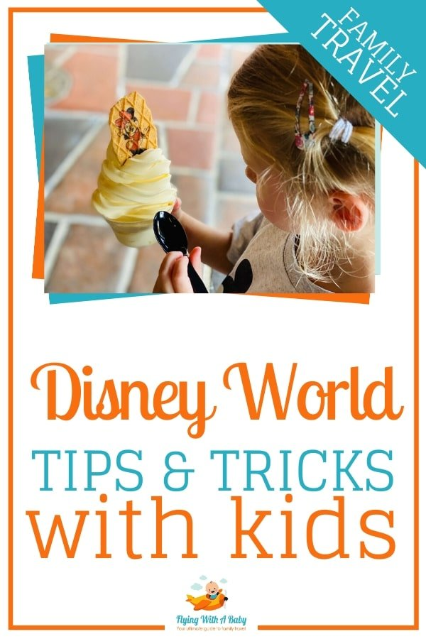 Disney World Tips and Tricks With Kids - our top tips for visiting Disney World with kids, including food and drink, activities, shows, parks and more! #familytravel #disneyworldtips #disneytips #disney