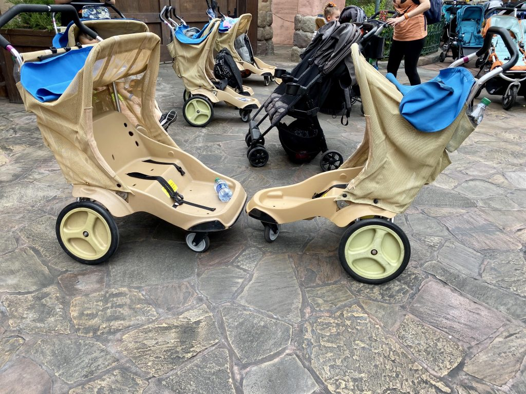 Disney strollers single and double