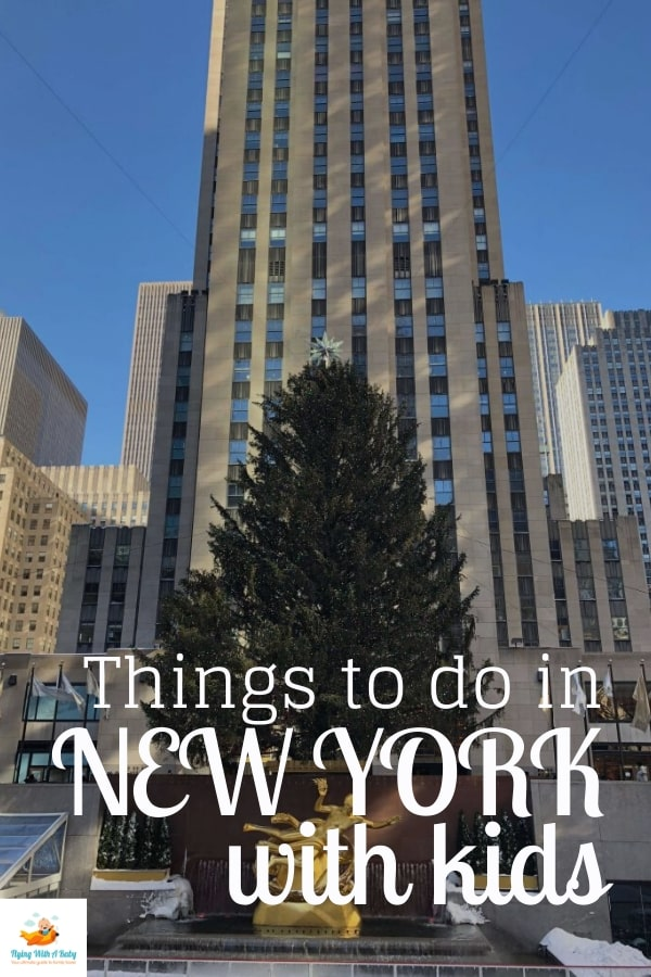 Things to do in New York with kids - things to do and places to see when in New York with children. #familytravel #newyork #NYC #newyorkwithkids