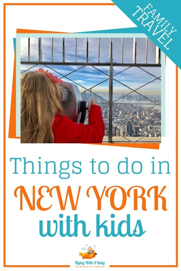 Things to do in New York with kids - sightseeing ideas when in New York with children. #familytravel #newyork #NYC #newyorkwithkids