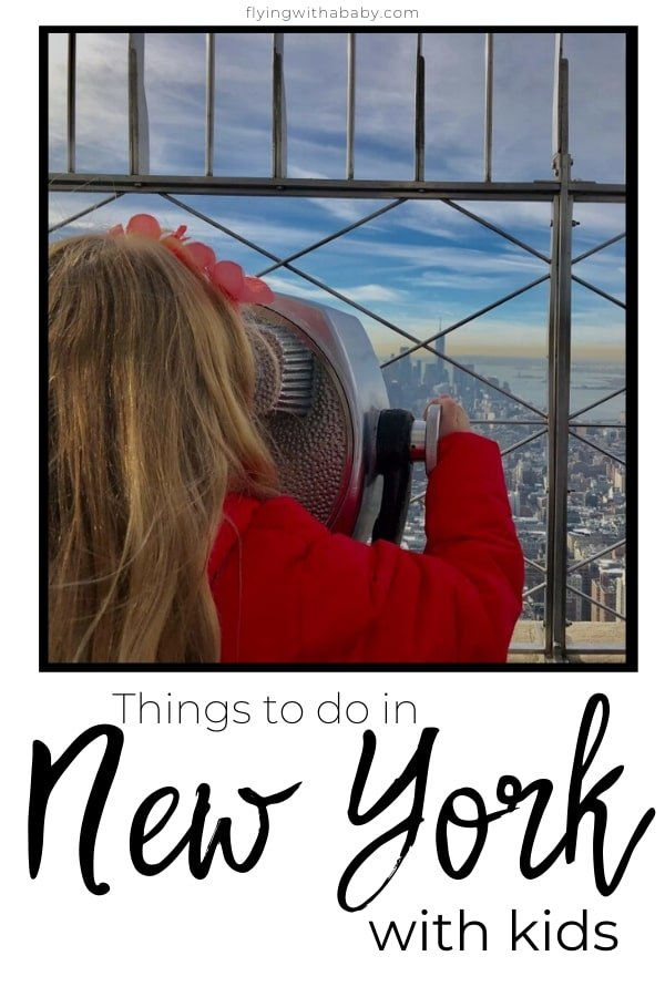 Things to do in New York with kids - ideas for things to do when in New York with children. #familytravel #newyork #NYC #newyorkwithkids