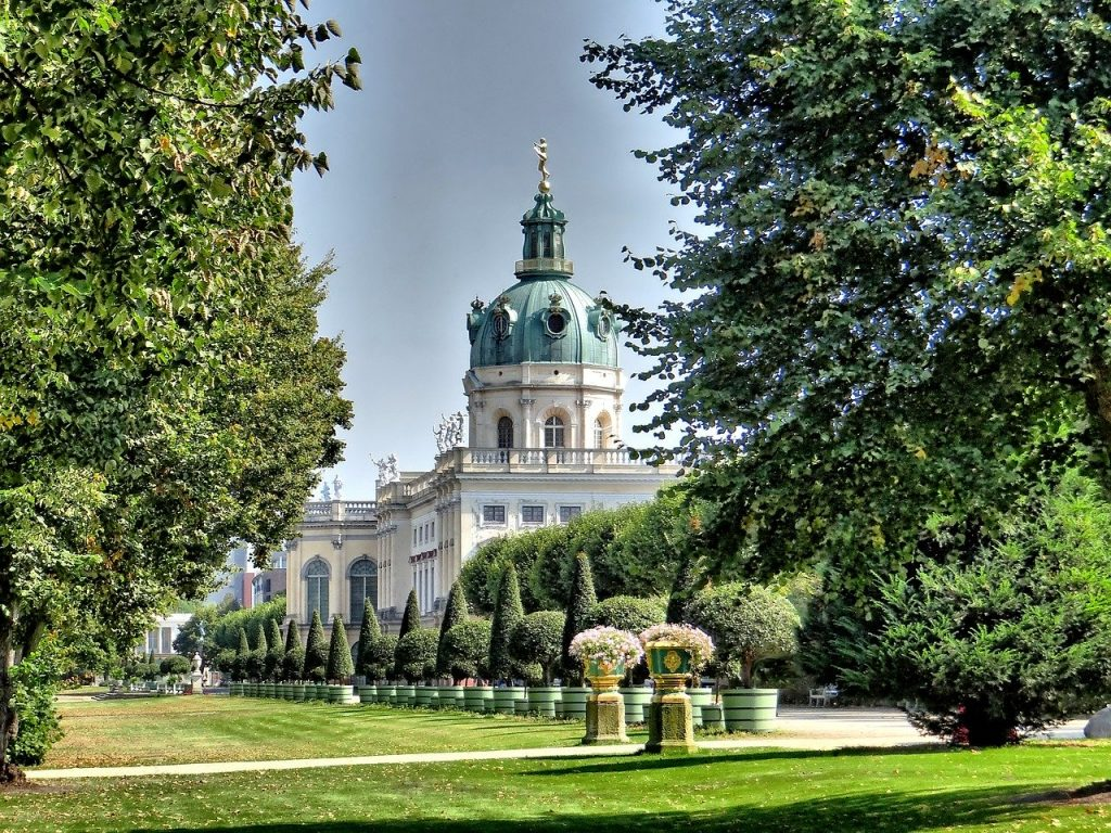 Charlottenburg Palace in Berlin