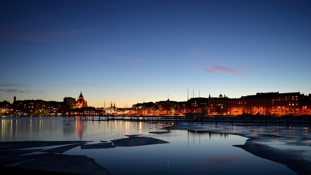 Helsinki, Finland's capital city