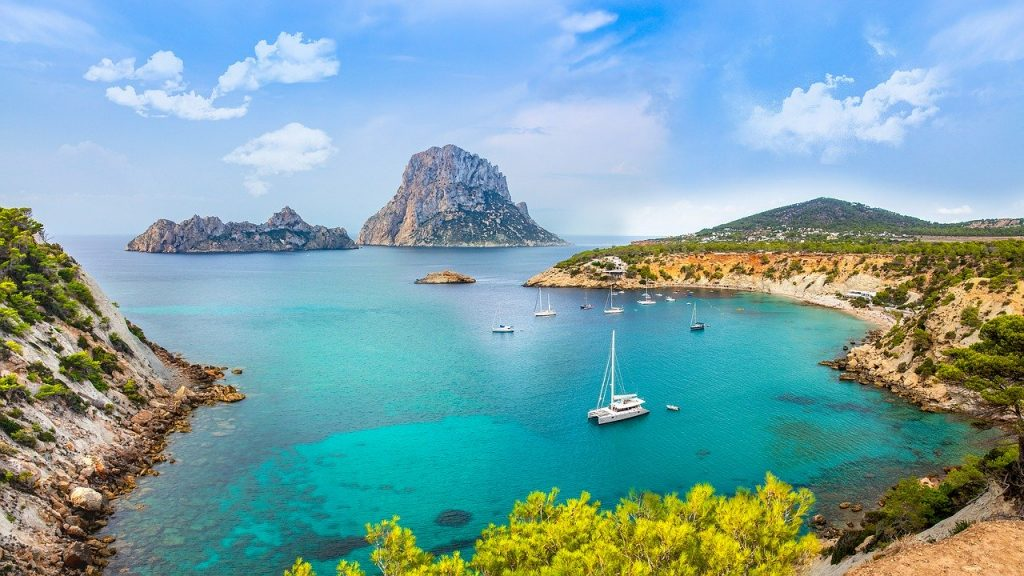 Ibiza, one of the Balearic Islands, is absolutely stunning