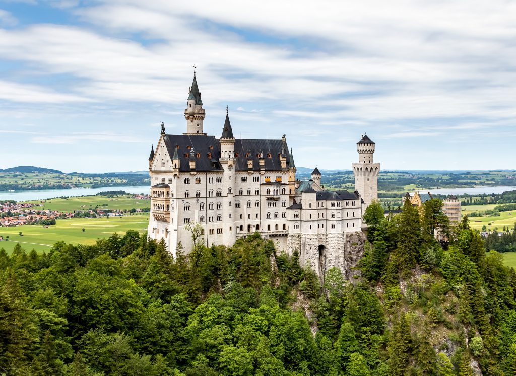 fairytale Neuschwanstein Castle, Germany