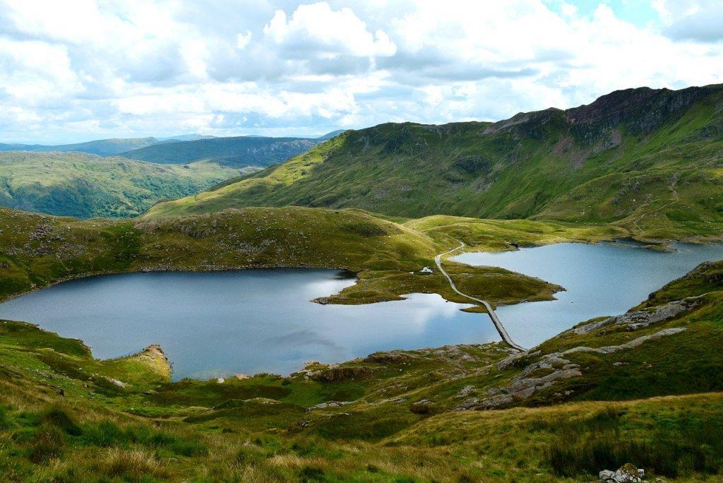 landscape of Snowdonia