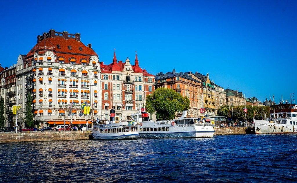 Stockholm, the Swedish capital