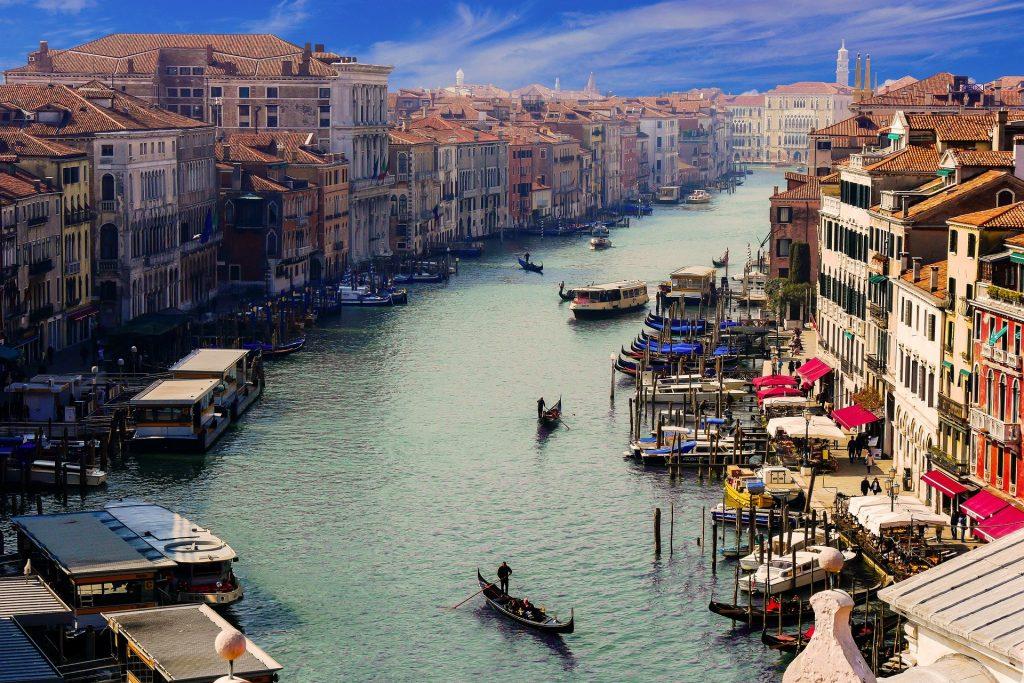 Grande Canale in Venice, Italy