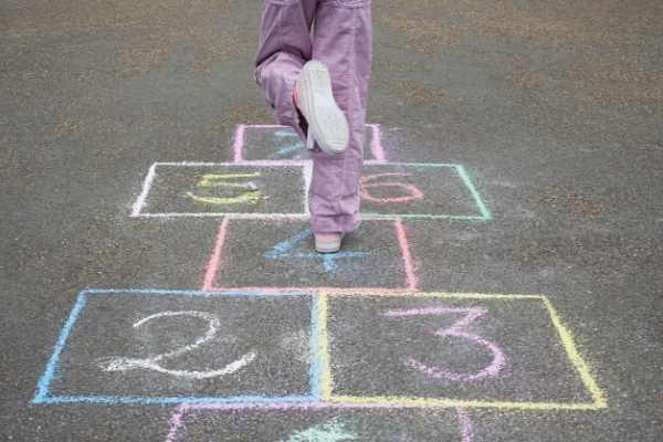 hopscotch is a fun traditional game