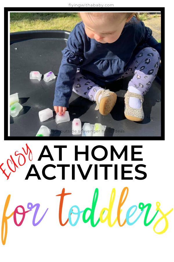 easy at home activities for toddlers