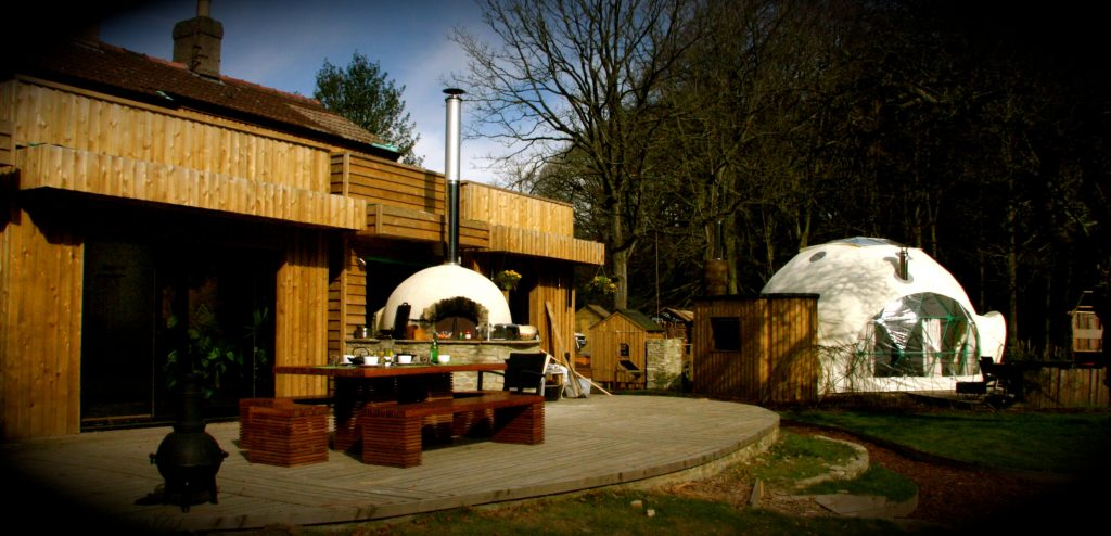 Dome Garden glamping geodomes
