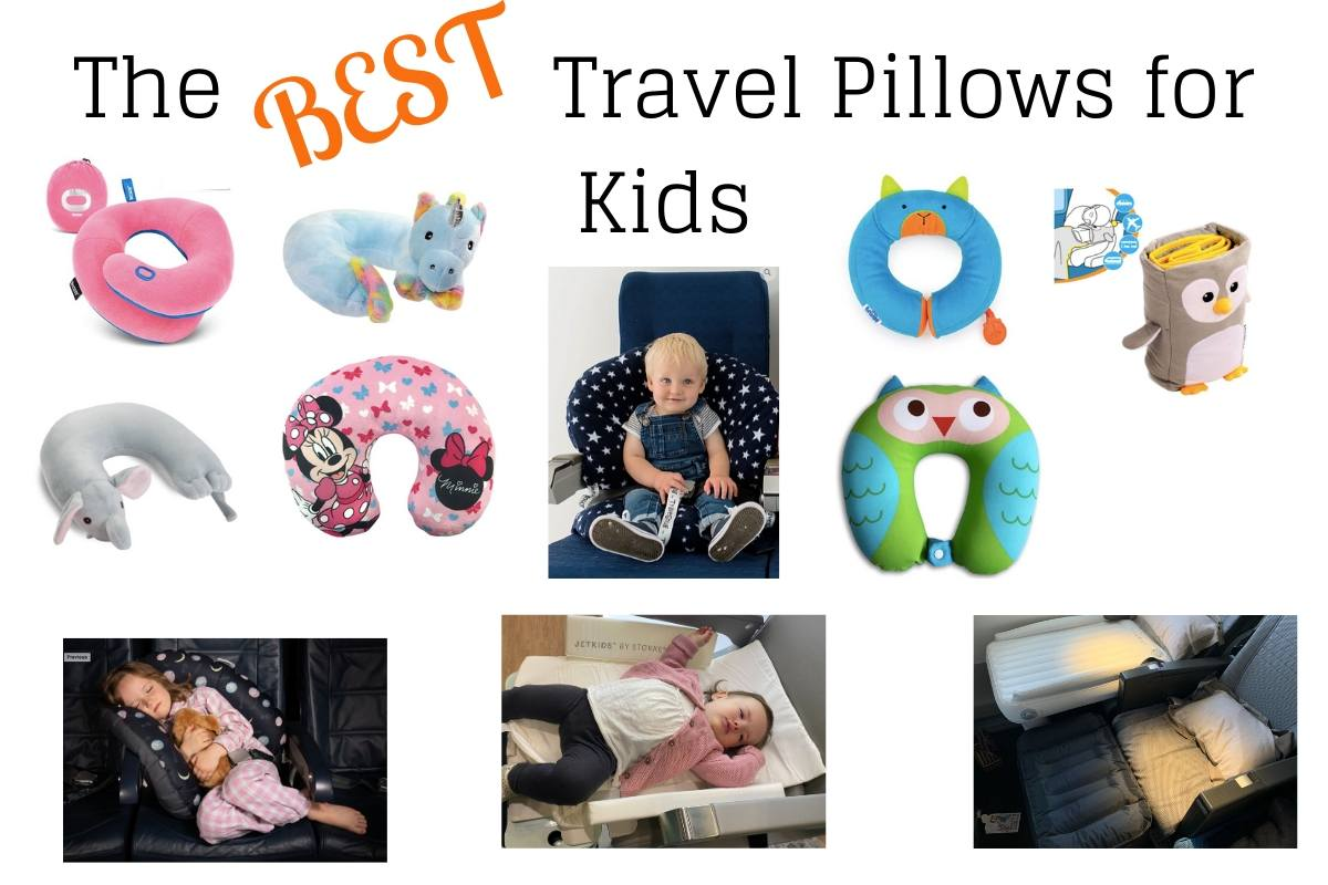 Selection of the best travel pillows for kids