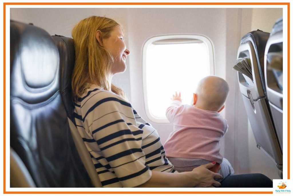 flying with a four month old