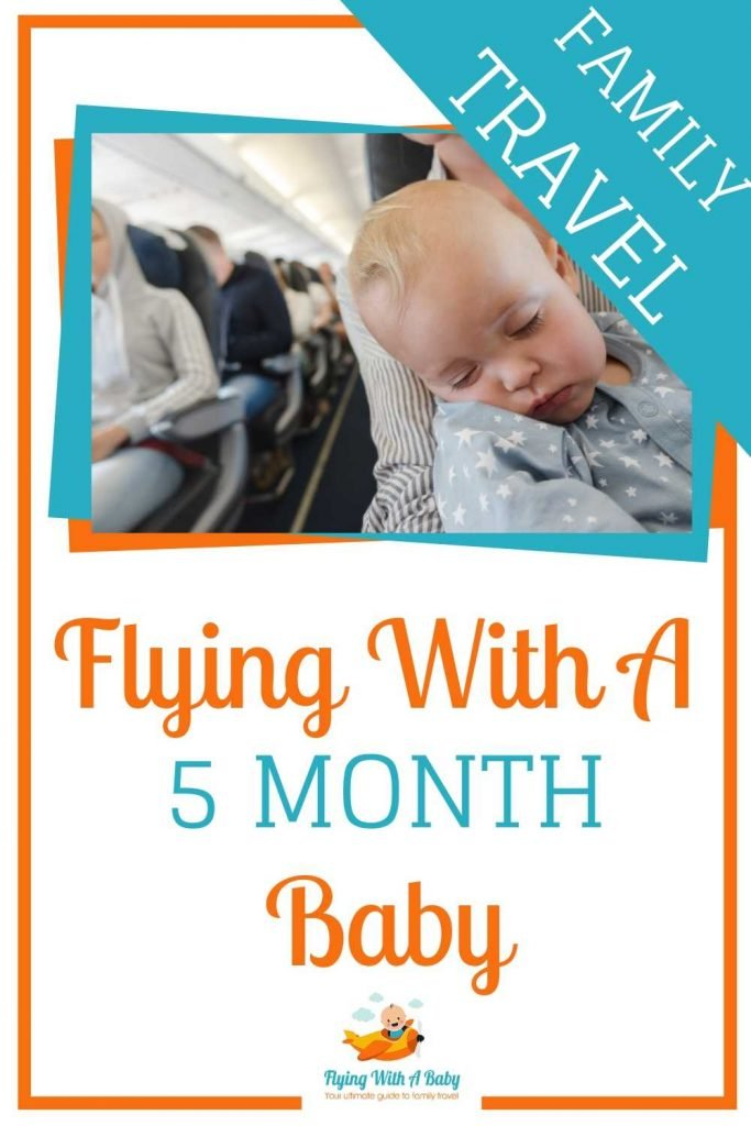 Flying with a 5 month old baby tips - PIN