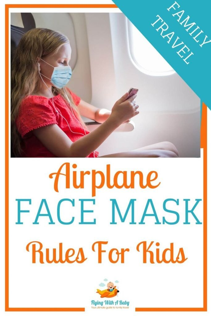 airplace face mask rule sf or kids pin for pinterest
