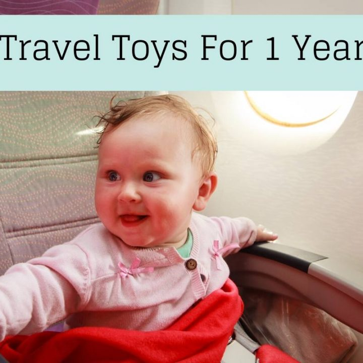 1 Year Old on a plane