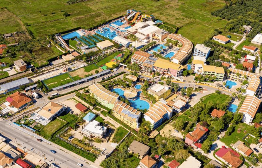 Caretta Beach resort waterpark Zante