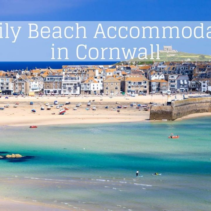 Family Beach Accommodation in Cornwall header