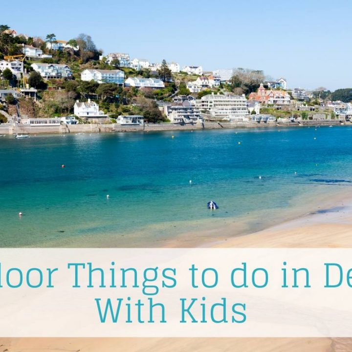 Salcombe Beach Devon a great outdoor place to visit in Devon with kids