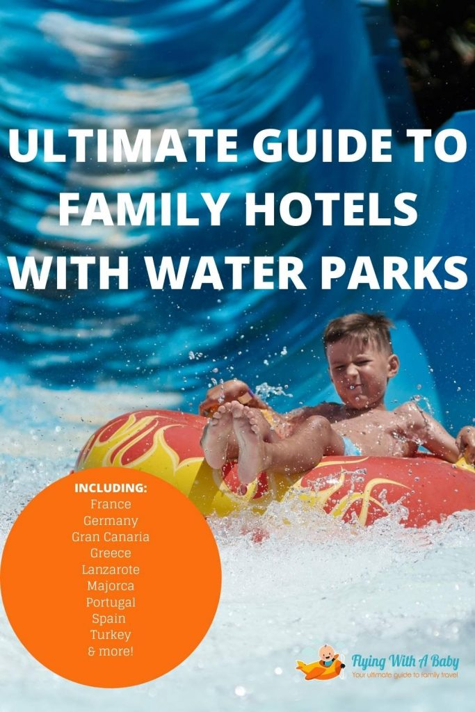 Pin for family hotels with waterparks