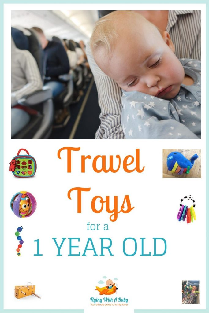 Travel toys for 1 year olds pin