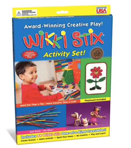 Wikki Stix travel game for kids