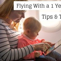 Flying With a 1 Year Old baby and mum