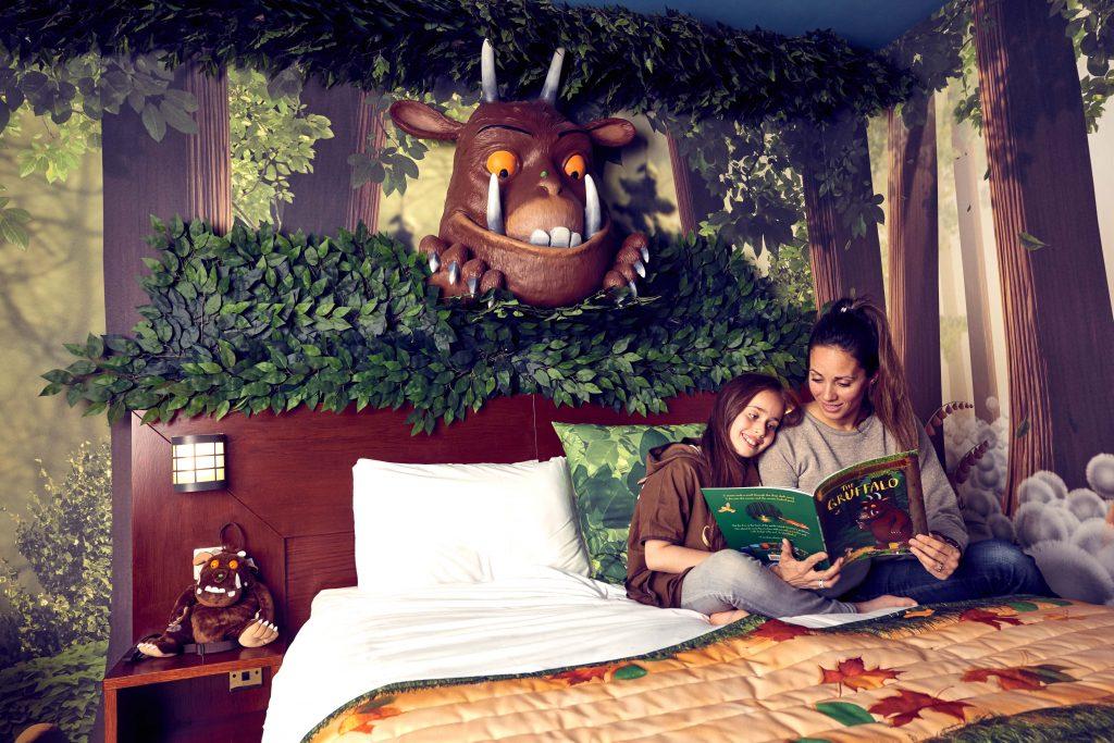 Gruffalo themed room. Copyright Chessington World Of Adventures