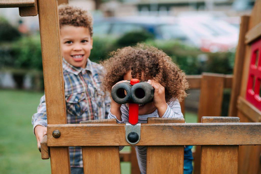 Kids at Ribby Hall