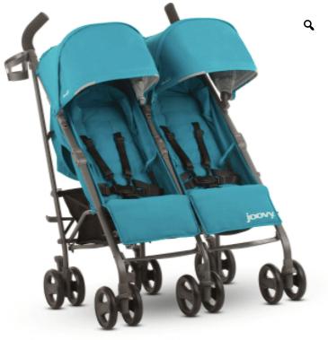Joovy twin groove double stroller