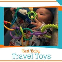 best baby travel toys for the airplane