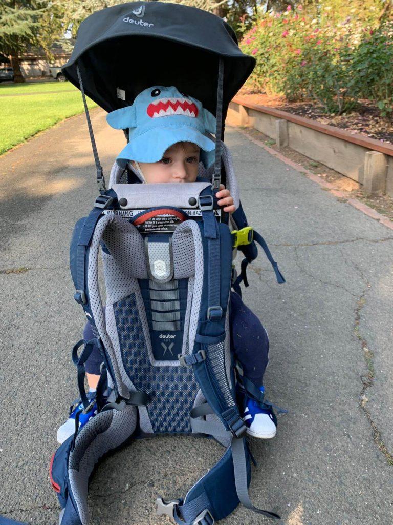 Deuter Comfort Active/Lite baby carrier for hiking